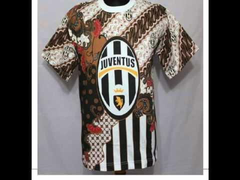 Model Baju Batik Bola Terbaru Juventus Update 2016  YouTube