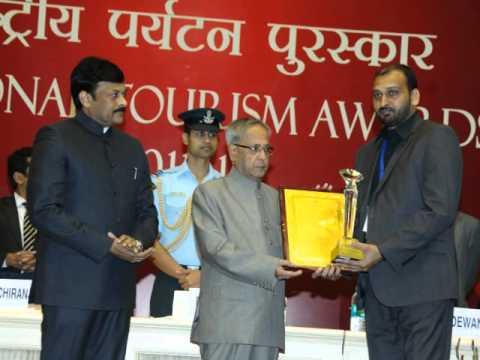 NTA Award 2013 (Ajay Travels)