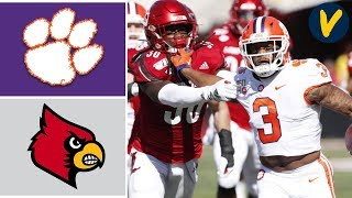 #3 Clemson vs Louisville Highlights | Week 8 | College Football Highlights