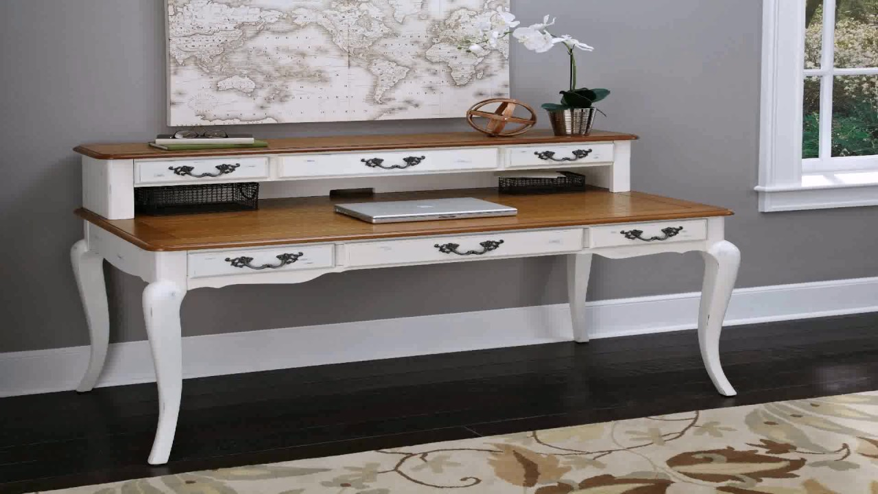 Home Styles Arts And Crafts Black Executive Desk