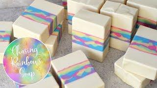 Chasing Rainbows Soap   MO River Soap
