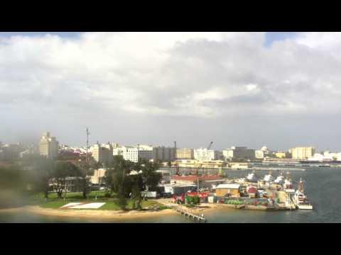 San Juan Puerto Rico Sail Away