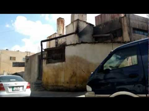 The streets of Old Zarqa