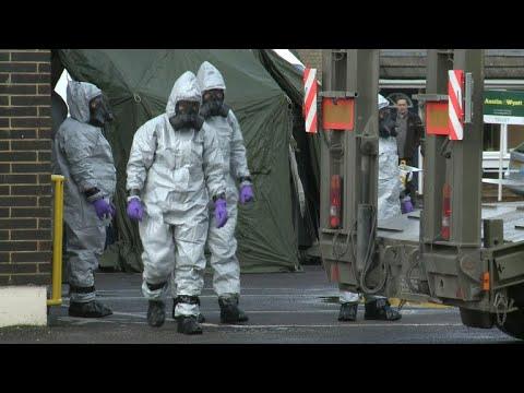 Russia given ultimatum over nerve agent attack in U.K.