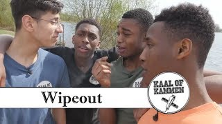 "IK GA KAAL OP TV |  Kaal of kammen ""WIPEOUT"" (behind the scenes) deel 1"