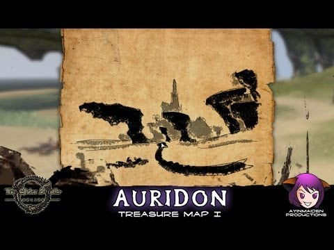 ☆ Elder Scrolls Online ☆ - Auridon Treasure Map I - YouTube