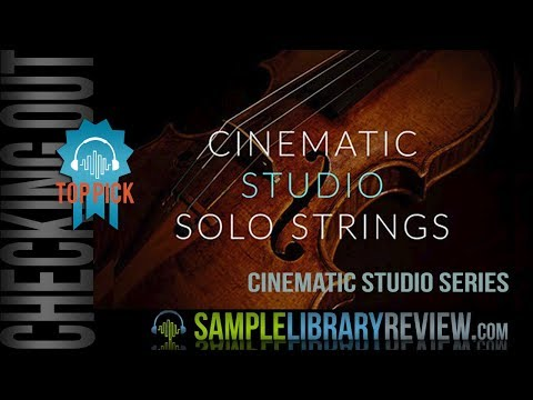 Checking Out: Cinematic Studio Solo Strings by Cinematic Studio Series