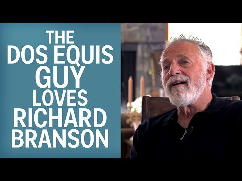 Dos Equis' Most Interesting Man Loves Richard Branson