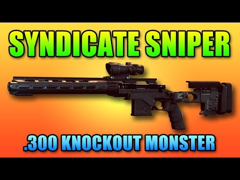 Syndicate Sniper .300 Knockout - Camera Coin Guide | Battlefield Hardline Professional Gameplay