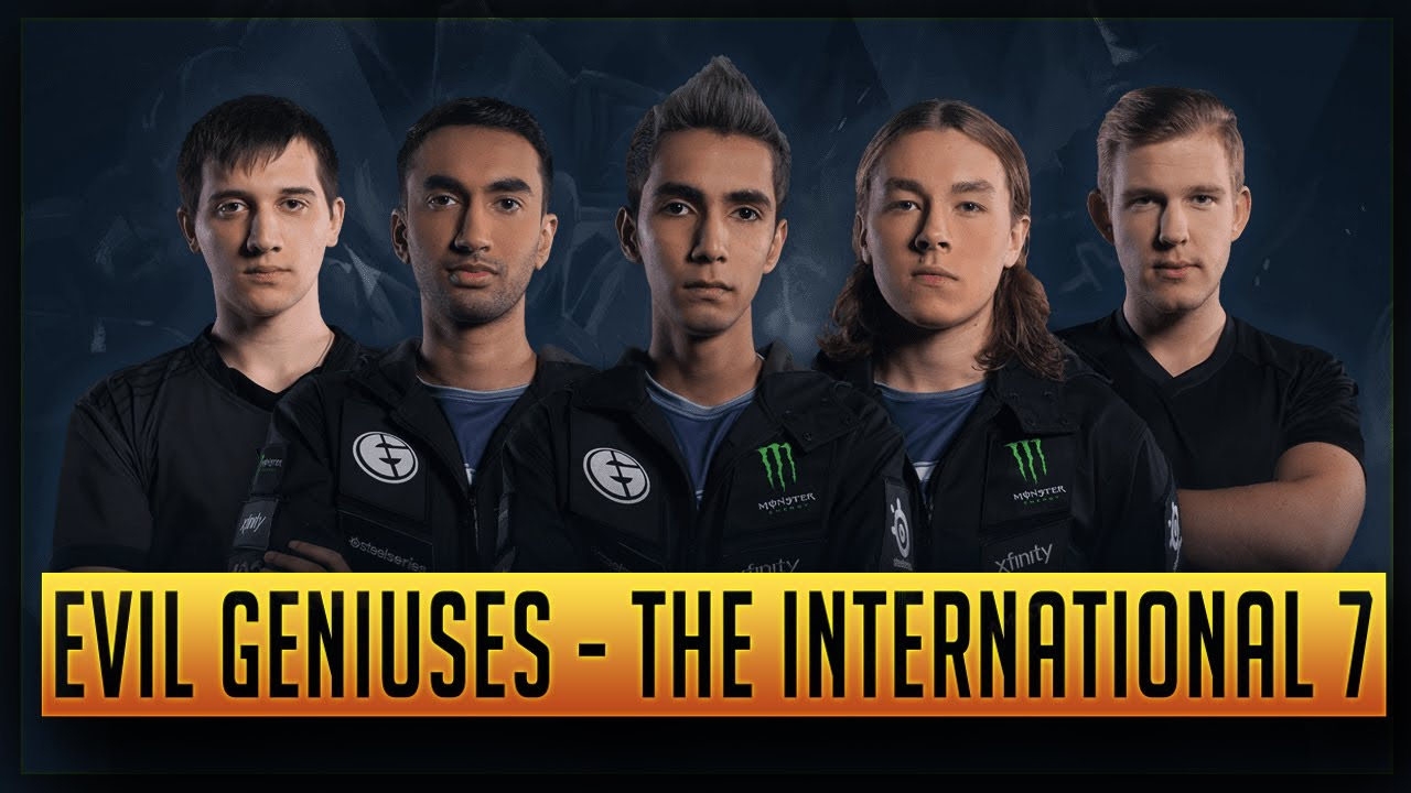 Eg Profile The International  Directly Invited Team Ti By Time  Dota Dota Ti