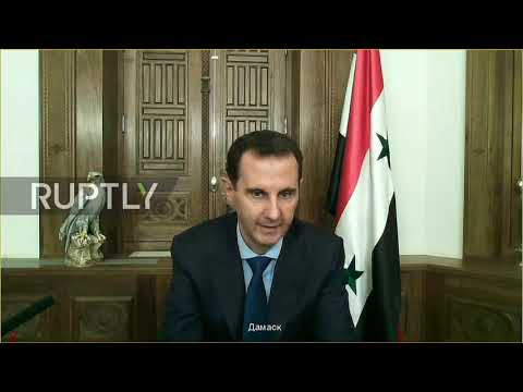 Russia: Putin says 'hotbed of international terrorism' in Syria nearly defeated