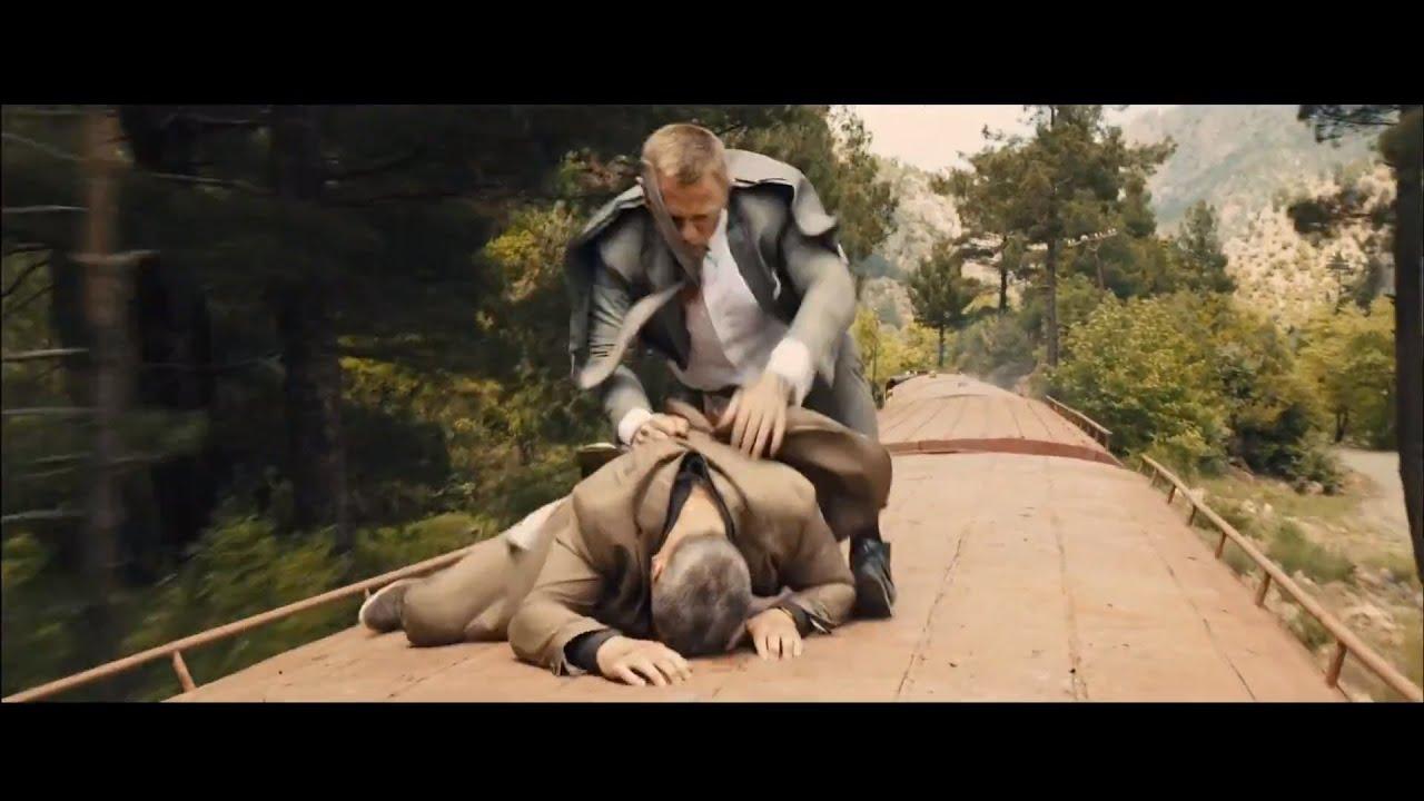 Skyfall - Opening Scene: Train Fight (1080p)