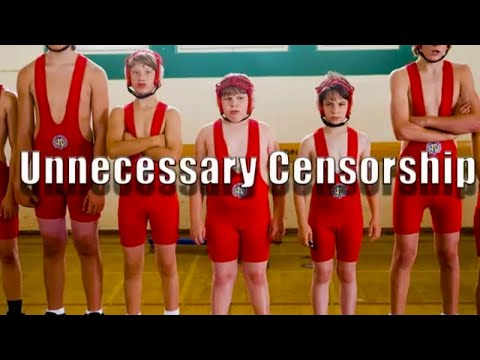 Diary Of A Wimpy Kid -Unnecessary Censorship-