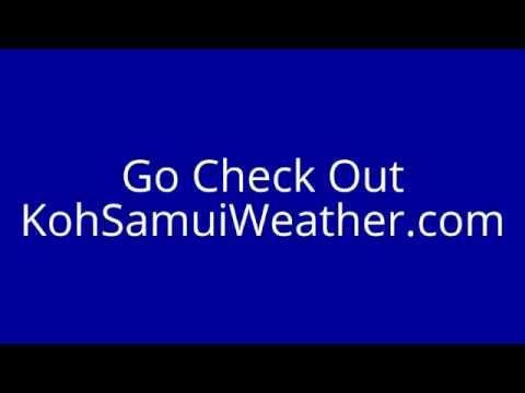 Koh Samui Weather