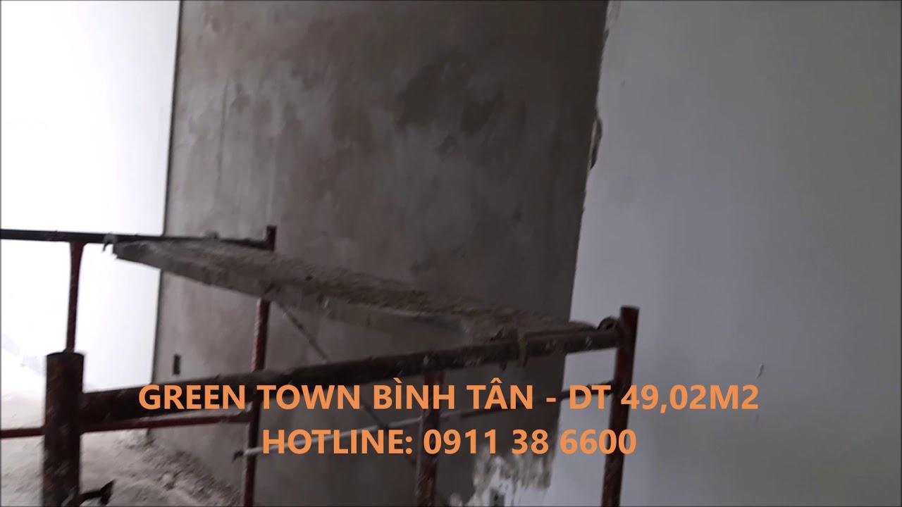 Căn hộ Green Town Bình Tân , dt 49.02m2 – LH: 0911386600