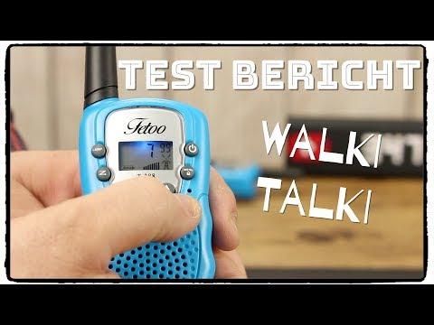 FETOO Walkie Talkie 2,5km Reichweite für Kinder im Test /Review / Unboxing