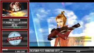 """[GER] ZFM #17 - Final Fantasy VIII - """"F1"""" Speedrun (PC) von VultuZ"""