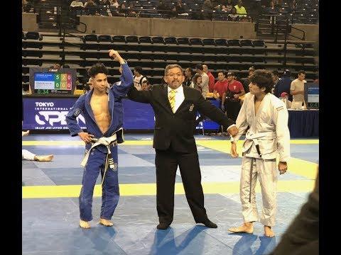 Diego Vasquez X Vincent Abanto 2018 IBJJF PAN Jiu Jitsu
