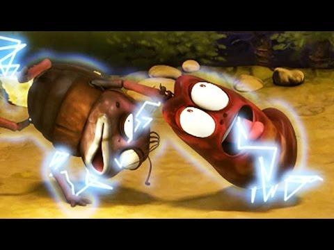 LARVA | ELECTRIC SHOCK | Cartoons For Children | LARVA Full Episodes