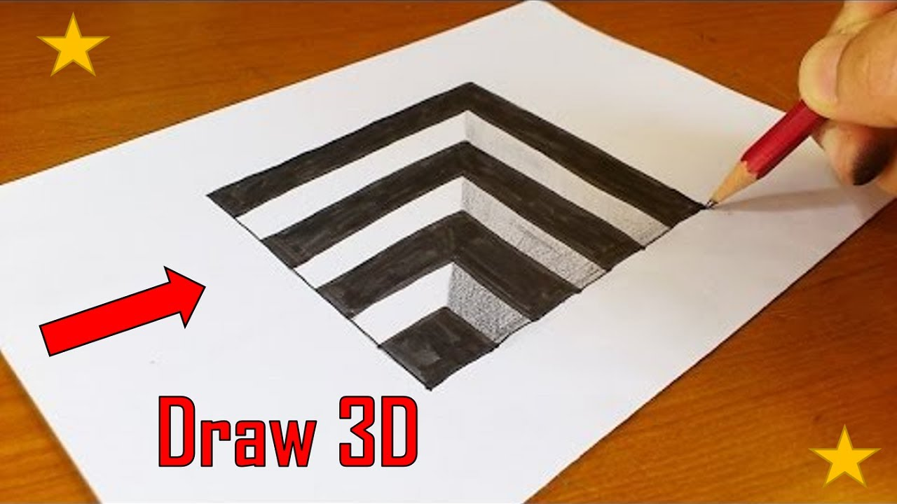 optical illusions draw awesome