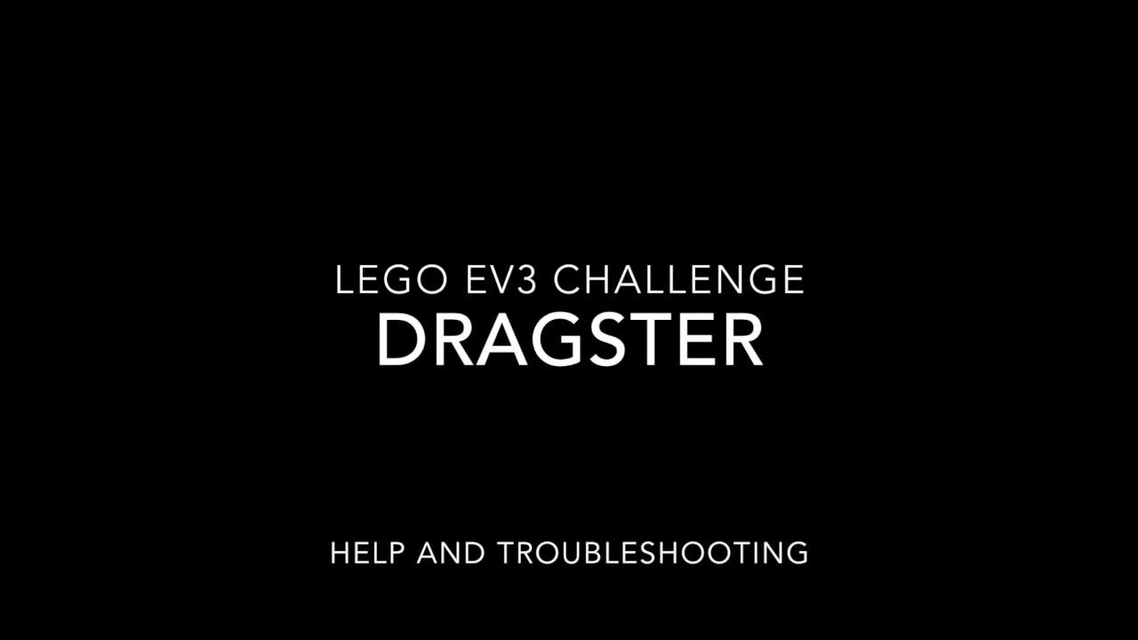 LEGO EV3 DRAGSTER HELP