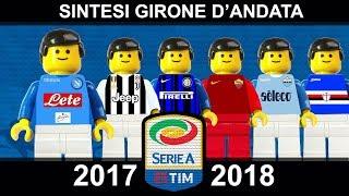 Serie A 2017/18 Sintesi e Goal Andata di Campionato 2018 Lego Calcio • Film Lego Football Highlights