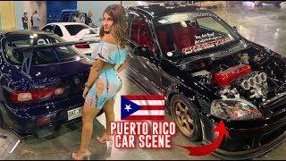 THE CAR SCENE IN PUERTO RICO IS CRAZY! - TUNEREVO PR