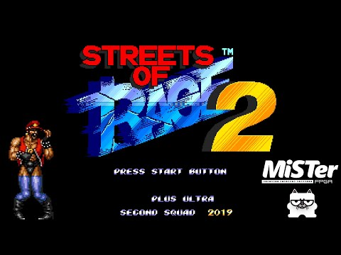 Streets Of Rage 2 - PLUS ULTRA: SECOND SQUAD (Ash Playthrough) [MiSTer FPGA]