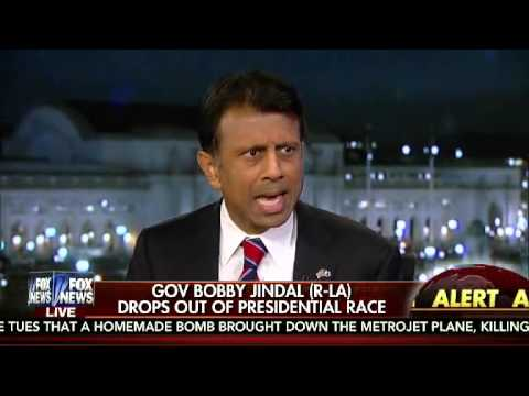 Bobby Jindal: This is not my time..I am suspending my campaign