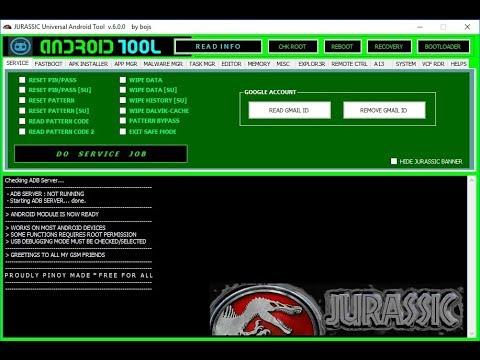 jurassic uniandroid setup gratuit