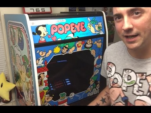 1982 Popeye Nintendo Arcade Delivery! Epic Retro Gaming Pickup! HD