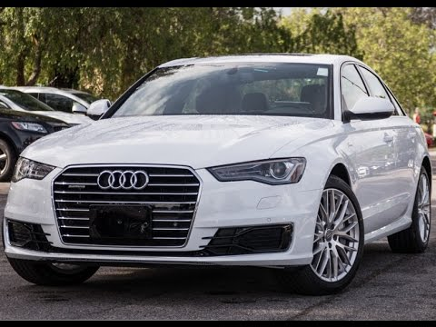 2016 Audi A6 3 0l Tdi Quattro Premium Plus Review