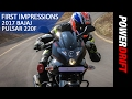 All You Need To Know : 2017 Bajaj Pulsar 220f : Powerdrift video