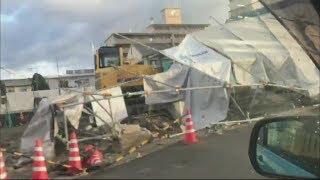 発達した低気圧の影響で、2月28日夜から3月1日朝にかけて、岡山県では非...