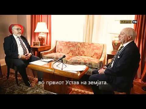 Mega intervju so Metju Nimic - medijator vo grcko-makedonskiot spor
