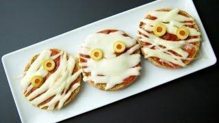 Kids Halloween Recipes: Pizza Mummies - Weelicious