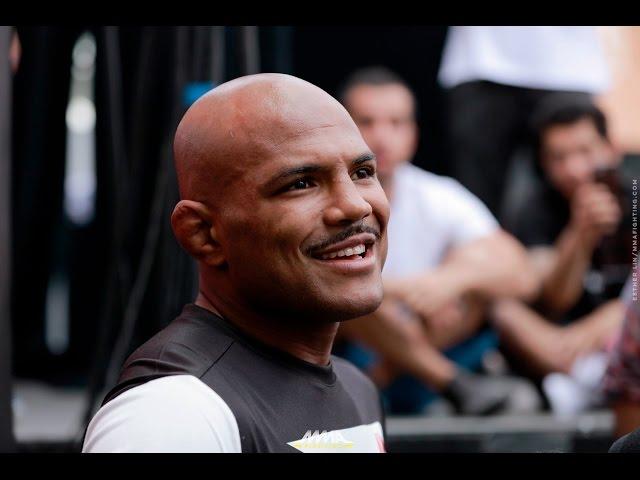 Wilson Reis UFC on FOX 24 Open Workout Scrum - MMA Fighting