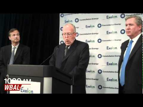 Constellation Energy Exelon Merger News Conference