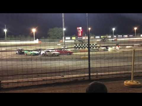 ROLL OVER SYCAMORE SPEEDWAY FIGURE 8 JULY 7 2019