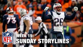Sunday's Best (and Worst) Moments from Week 15 | NFL Sunday Storylines