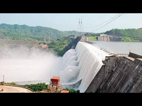 Sardar sarovar dam overflow 2017 - YouTube