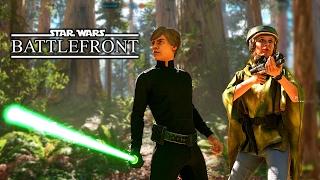 Star Wars: Battlefront gameplay #2 | Endor | 4k-60FPS