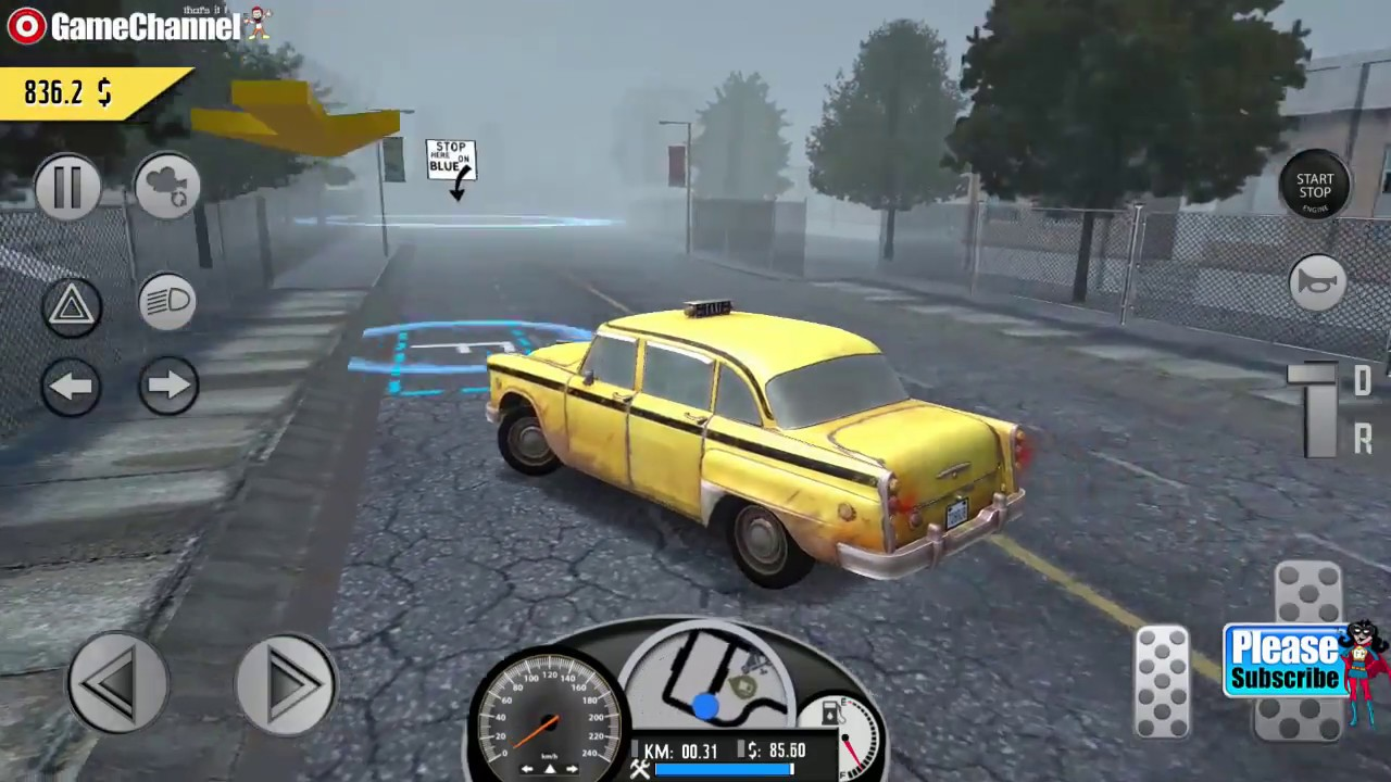 Real Taxi Simulator Taxi Driving Game Android Gameplay Video