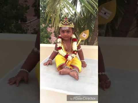Murugan Fancy Dress Costume   Lord Muruga Birthday 2018