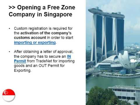 Guide on Singapore's Free Trade Zones