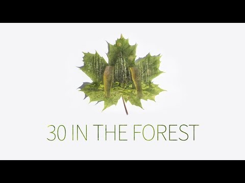 LIVING 30 DAYS IN THE FOREST