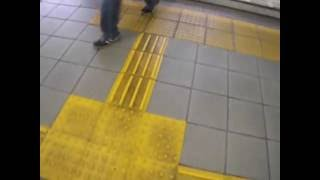名鉄瀬戸線大森・金城学院前駅。