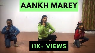 SIMMBA- Aankh Marey Dance | Bollywood Dance | Easy Steps | Kids Choreography |