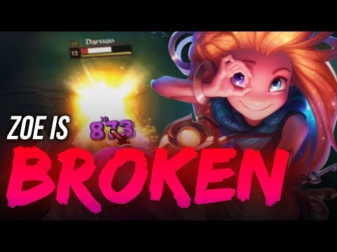 LL Stylish - ZOE IS BROKEN