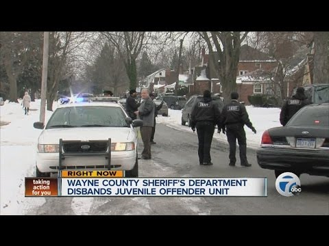 Wayne County Sheriff's Office disbands Juvenile Offender Unit